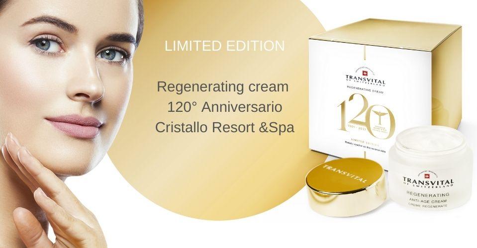 LIMITED EDITION Regenerating cream Cristallo Resort &Spa