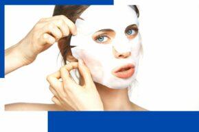 Transvital collagen mask